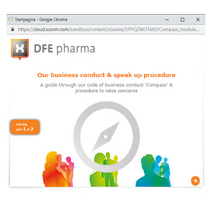 E-learning modules DFE Pharma